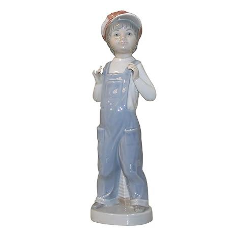 Amazon.com: Lladro Boy desde Madrid 01004898: Home & Kitchen