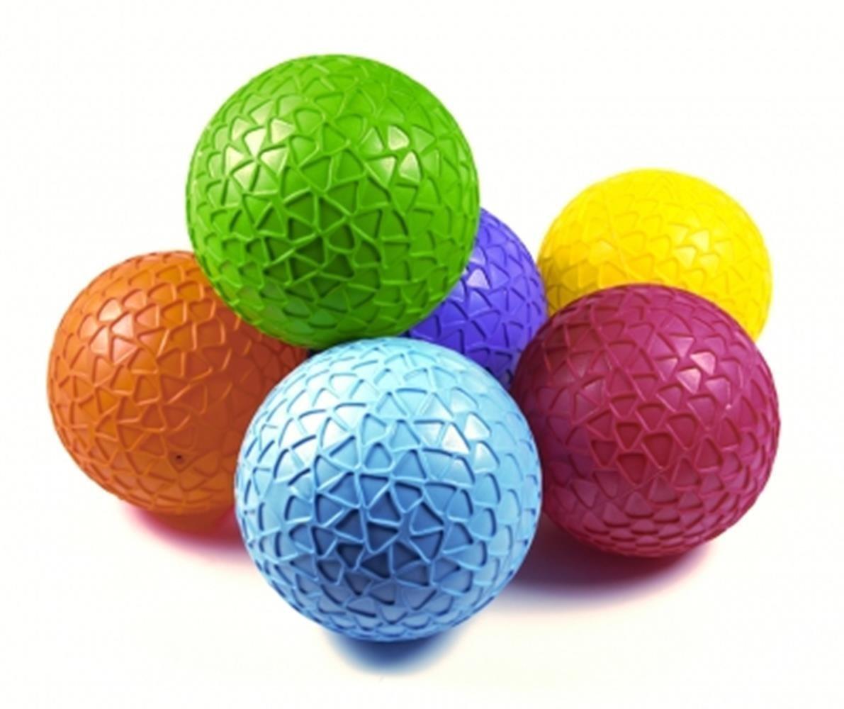 OSG Weich & Sicherheit Hoch Wippen Aufblasen/Entlüften Easygrip Kinder Spielball 6er Set Bälle