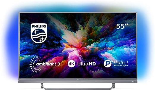 Televisor 4K ultraplano con tecnología Android TV 55PUS7503/12: Philips: Amazon.es: Electrónica