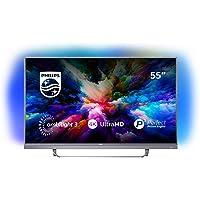 """Philips 55PUS7503 Smart TV UHD 4K (3840 x 2160 px), da 55"""", Android, Ultra Slim, Ambilight, anno 2018 [Esclusiva Amazon.it]"""