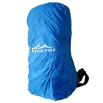 Forro impermeable para mochilas, azul, small: Amazon.es: Deportes y aire libre