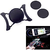 LICHIFIT Auto Air Vent Outlet Mount Telefoonhouder 360 graden roterende draaibare mobiele telefoon magnetische wieg voor…