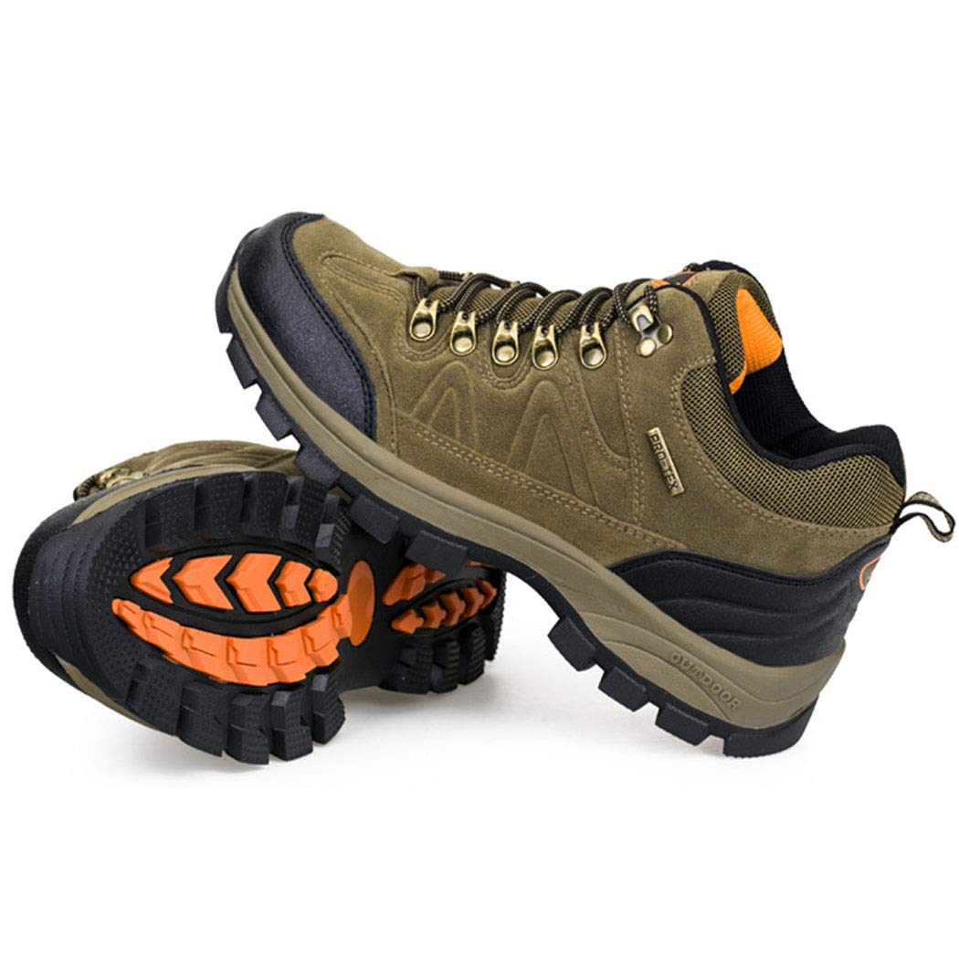 Winter Stiefel Herren Outdoor-Wanderschuhe Plus samt warme Bergstiefel bequem atmungsaktive Rutschfeste Schuhe