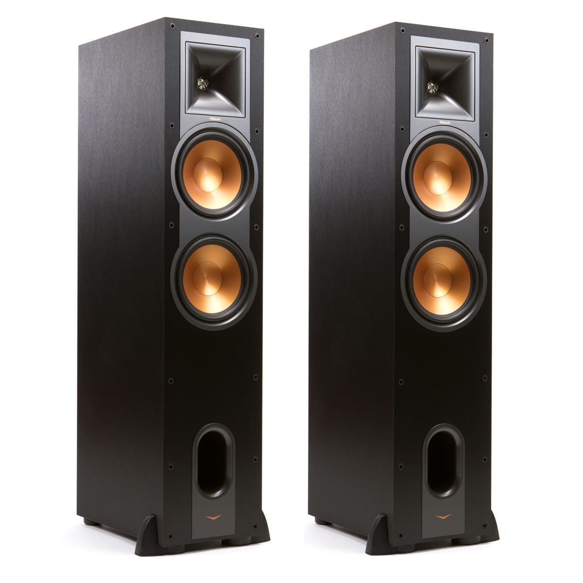 Klipsch R-28F Reference Floorstanding Speaker - Pair (Black)