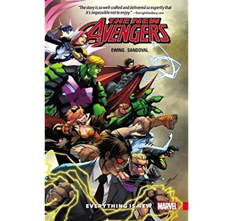 Everything Is New Vol 1 NEW Marvel Now Graphic Novel Book New Avengers A.I.M