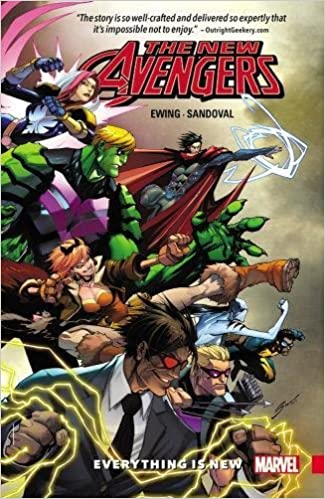 Everything Is New Vol New Avengers A.I.M 1 NEW Marvel Now Graphic Novel Book