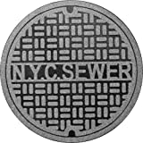 Fred and Friends Feet First Manhole Mat NY