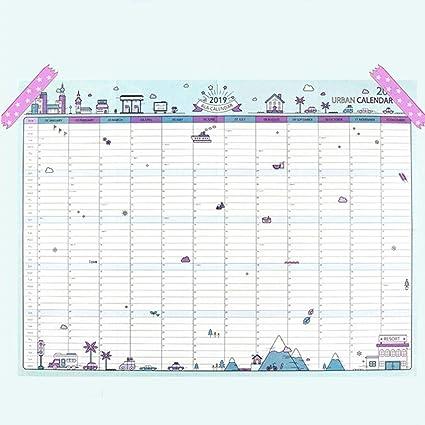 Calendarios de Escritorio 2019 365 días del calendario pared de ...