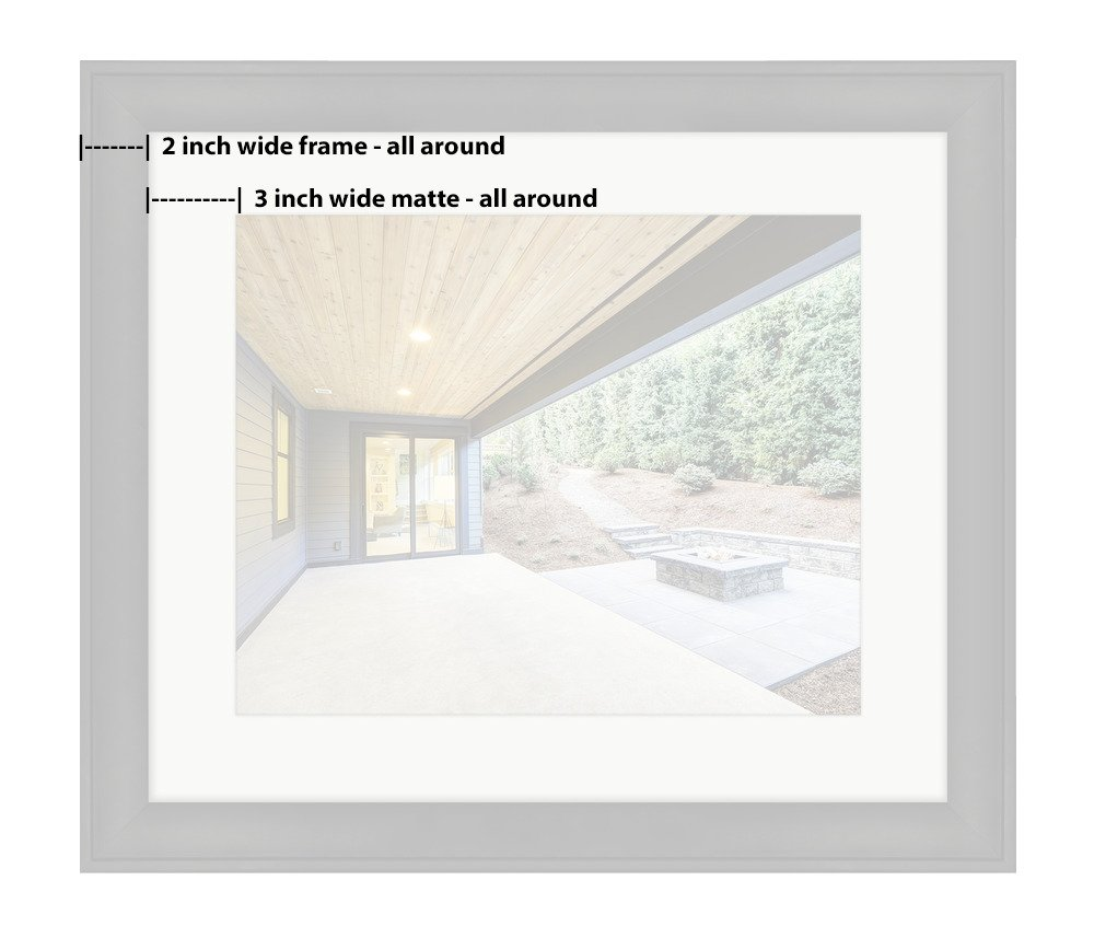 Amazon.com: Ashley Framed Prints, Luxurious New Construction Home ...
