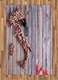 Winery Area Rug by Lunarable,