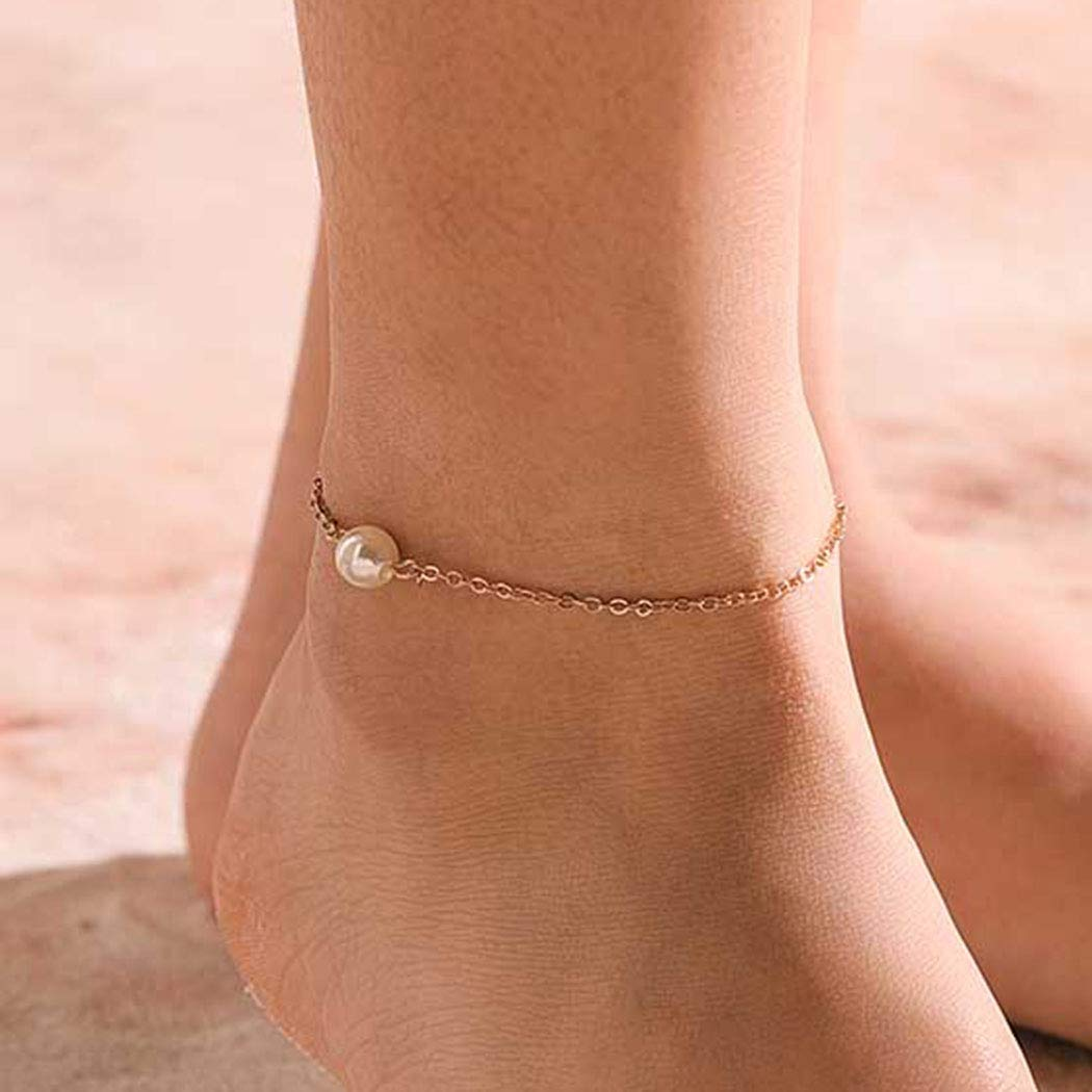 Details about  /Dainty Bright Lime Green Seed Bead Friendship Bracelet Tiny Anklet Necklace