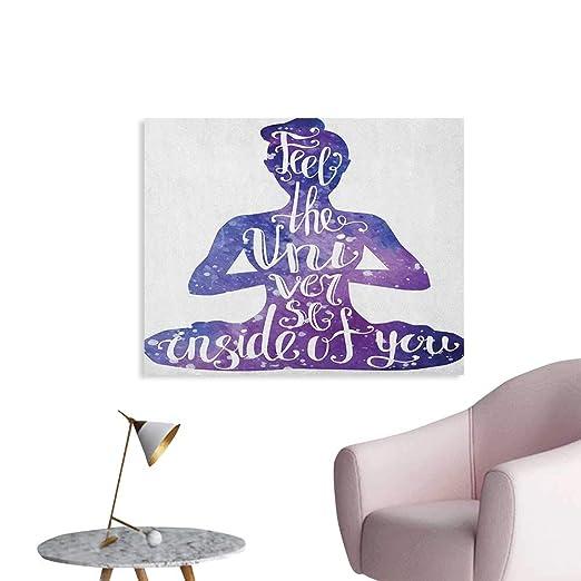 Anzhutwelve Yoga Pintura Post Perro Boca Abajo Relajante con ...