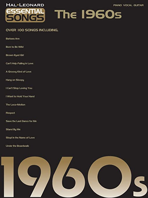 Amazon Hal Leonard Essential Songs The 1960s Musical Instruments