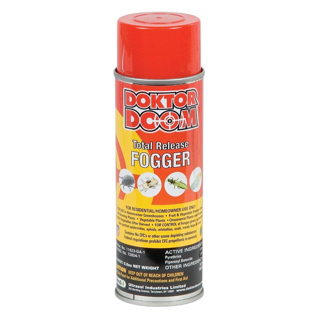 5.5 oz Doktor Doom Total Release Fogger Sold in packs of 12 by Doktor Doom