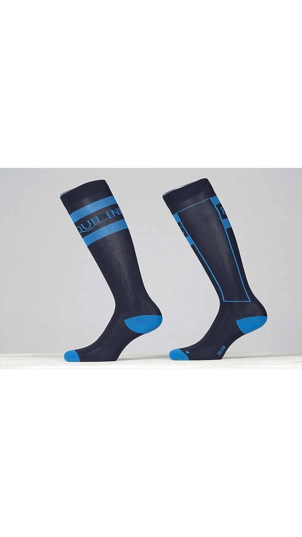 equiline Junior - Calcetines de equitación Cesar, 31/34, Azul: Amazon.es: Deportes y aire libre