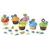 Deals on Learning Resources ABC Cupcake Party Toppers Vocabulary Toy