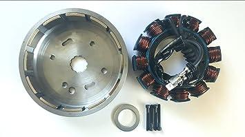HARLEY DAVIDSON 32 AMP ROTOR  EVO /& S/&S SEALED MAGNETS W//SPACERS