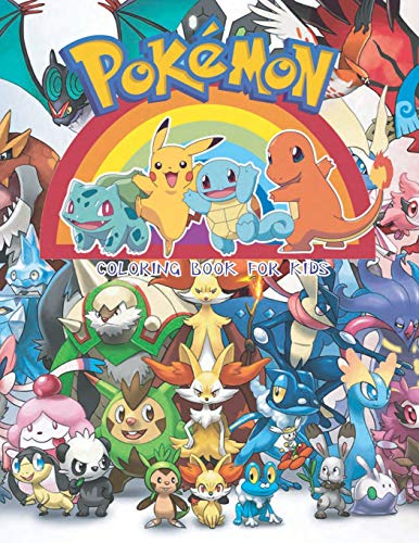 Pokemon Coloring Book For Kids: Pikachu coloring book and pokemon characters, Great starter book for young children aged 3+ por Inkway Star