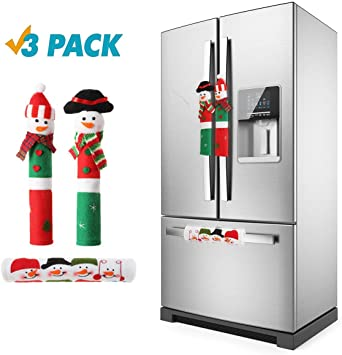 Amazon.com: Cubiertas para manillar de Navidad, 3 piezas ...