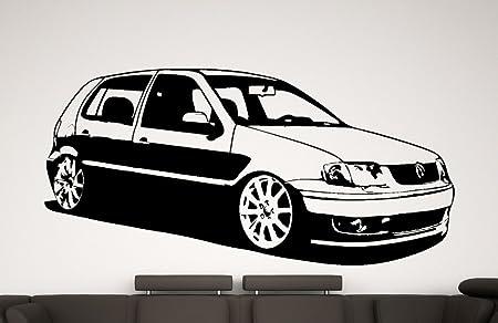 Streetwall Pared Adhesivo Decorativo para Volkswagen Polo 6 N2 ...