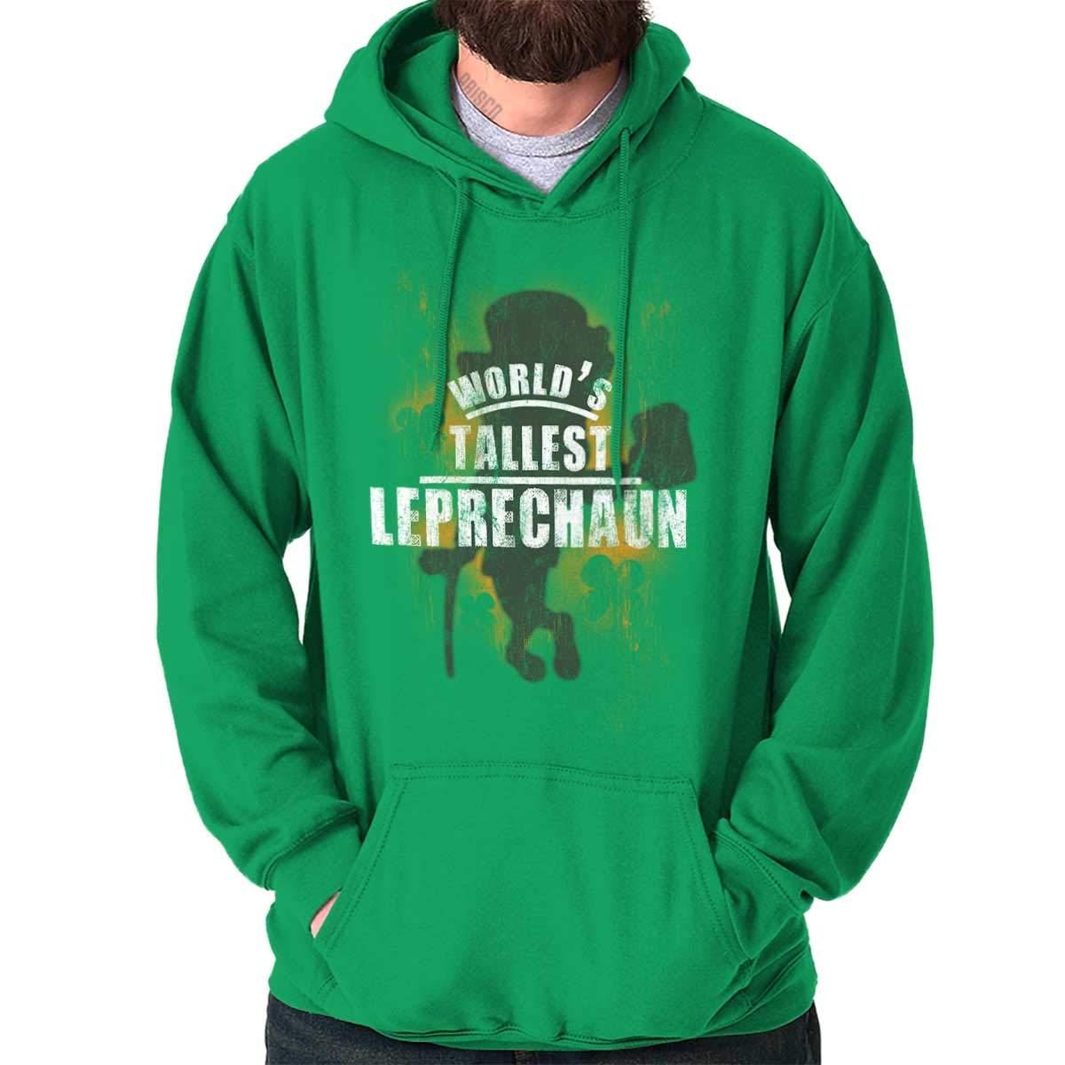 Worlds Tallest Leprechaun St Pattys Funny Shirts