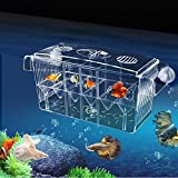 4 Grides Breeding Isolation Box Fish Tank Aquarium Incubator Hatching Transparent Boxes Multifunctional Acrylic Fish Tank Holder