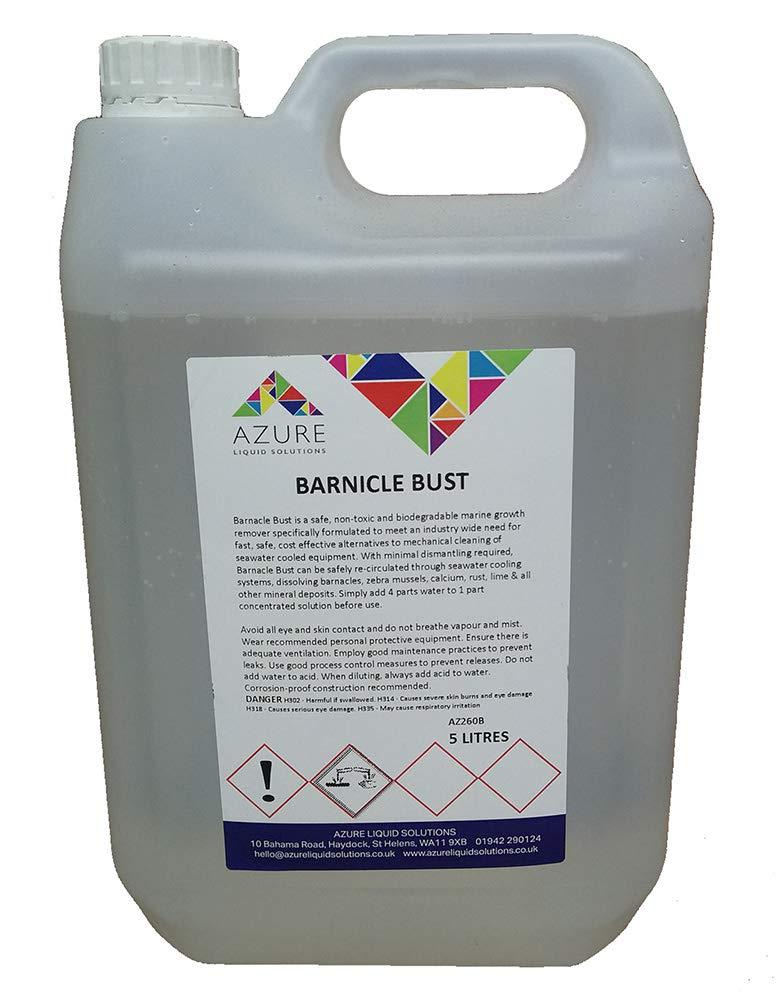 Barnacle - Limpiador para eliminar el crecimiento marino no tóxico ...