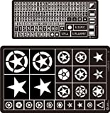 Alliance Model Works 1:35 Painting Stencil WWII US