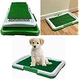 UEETEK Cachorro de Perro de Perro Gato de Cachorro Interior de Baño Potty Trainer 3 Capas