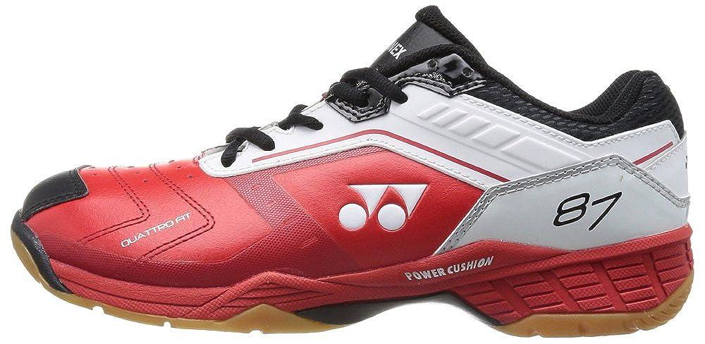 [ヨネックス] shb-87exバドミントンshoes-ホワイト/レッド 7 D(M) US  B00JSXTC4A