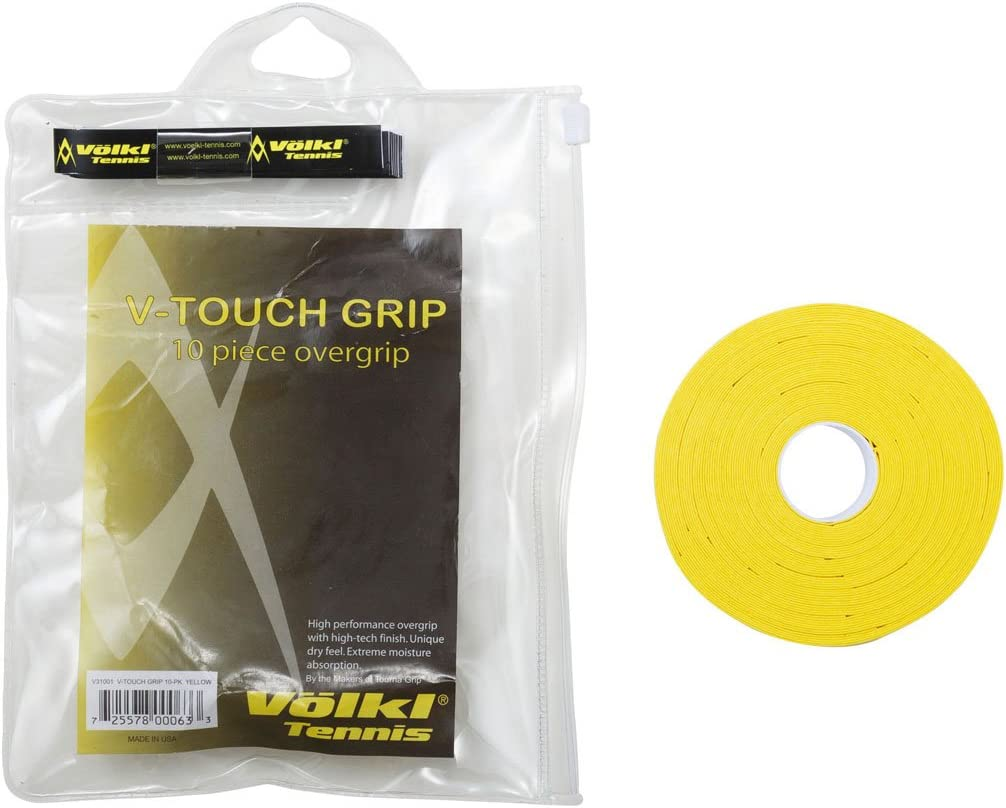 Völkl V Touch Tennis Grip 10 Pack: Amazon.es: Deportes y aire libre