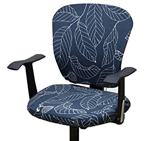 XNN Computer Office Chair Cover - Protective & Stretchable Universal Chair Covers Stretch Rotating Chair Slipcover (ZZ)