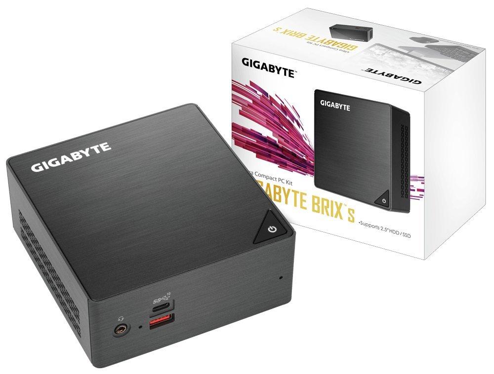 Gigabyte GB-BRi7H-8550 BGA 1356 1.80GHz i7-8550U UCFF Negro - Barebón (BGA 1356, 8ª generación de procesadores Intel Core i7, 1,80 GHz, i7-8550U, 14 NM, ...