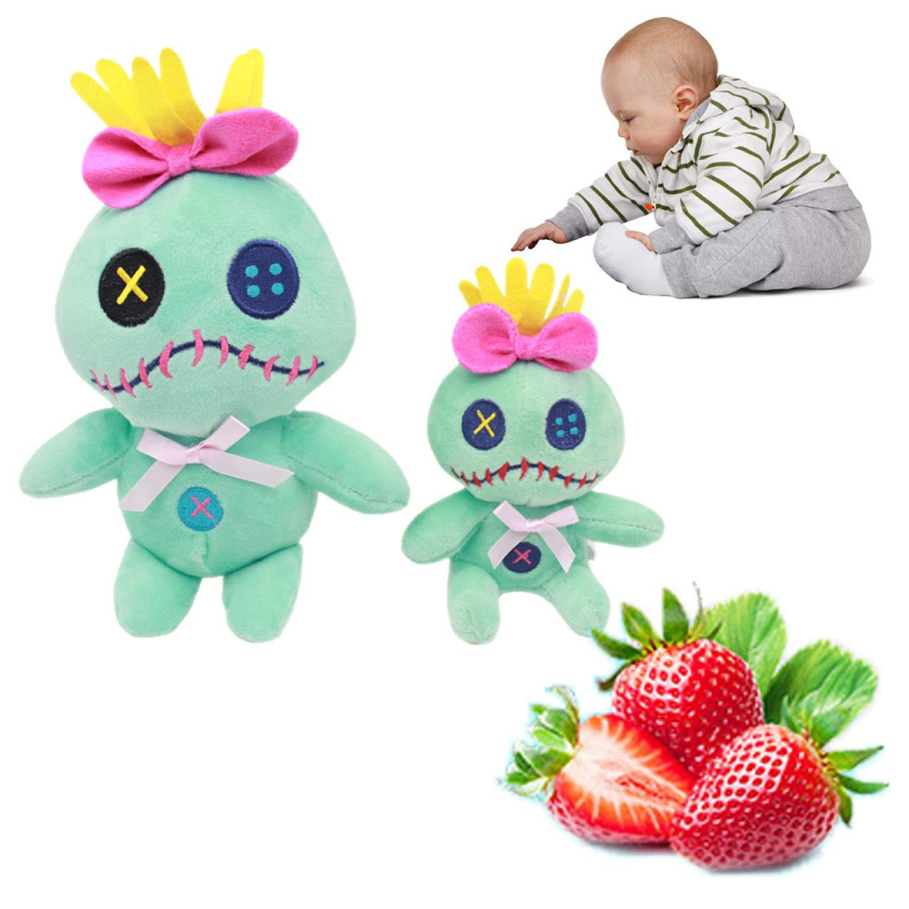 HOXUAN Homely Kawaii Lilo y Stitch Scrump Peluche Juguetes ...