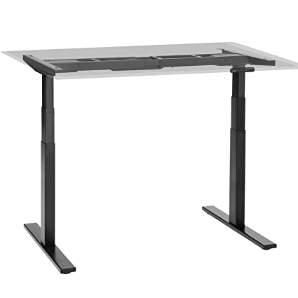 Amazon.com : SONGMICS Electric Standing Desk Frame, Desk with ... on bike legs, standing desk girl, weight loss legs, coffee table legs, trestle table legs, bathroom legs, standing desk ikea, standing desk vintage, standing desk foot, standing desk shoes, chairs legs, standing leg exercises, standing desk kitchen, standing desk black, hiking legs, standing desk office, standing desk con set north america,