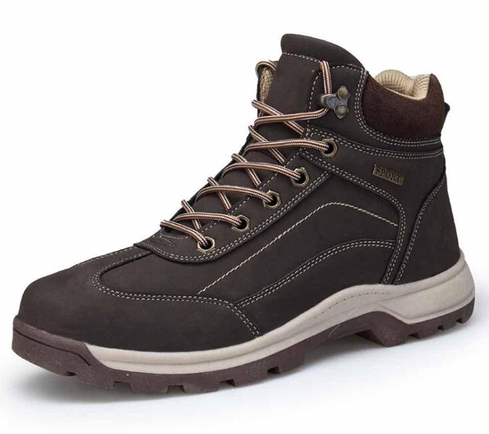 GLSHI Hommes Bottes De Marche Printemps Sports De Plein Air Respirant Chaussures De Randonnée Baskets Antidérapantes