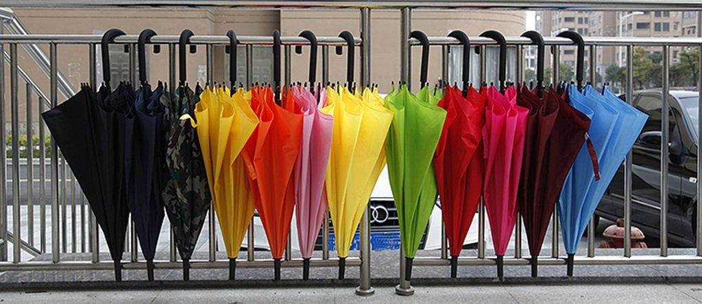 Ombrello Manico Manico Manico Lungo Un Ombrello Hook Solido di Coloreee Manico Lungo Semplice Automatico pubblicità Ombrello ombrellone (Coloreee     11) | Stravagante  | Superficie facile da pulire  | Il Prezzo Ragionevole  | Vogue  | Il Nuovo Prodotto  de4590