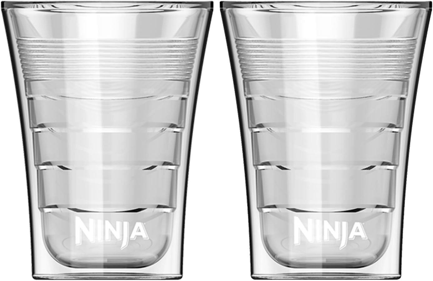 Ninja 14 Ounce Microwave Safe Plastic Double Insulated Cup for Ninja Coffee Bar (2)