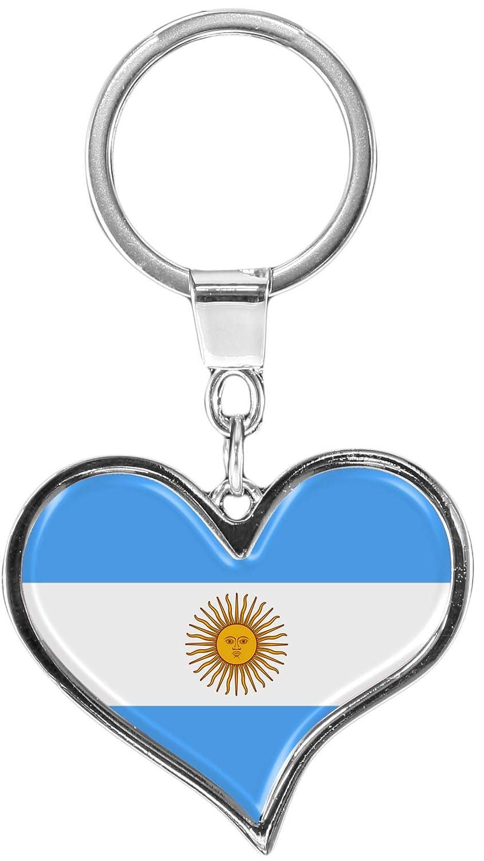 metALUm Llavero de metal/Bandera la Argentina / 6611012S ...