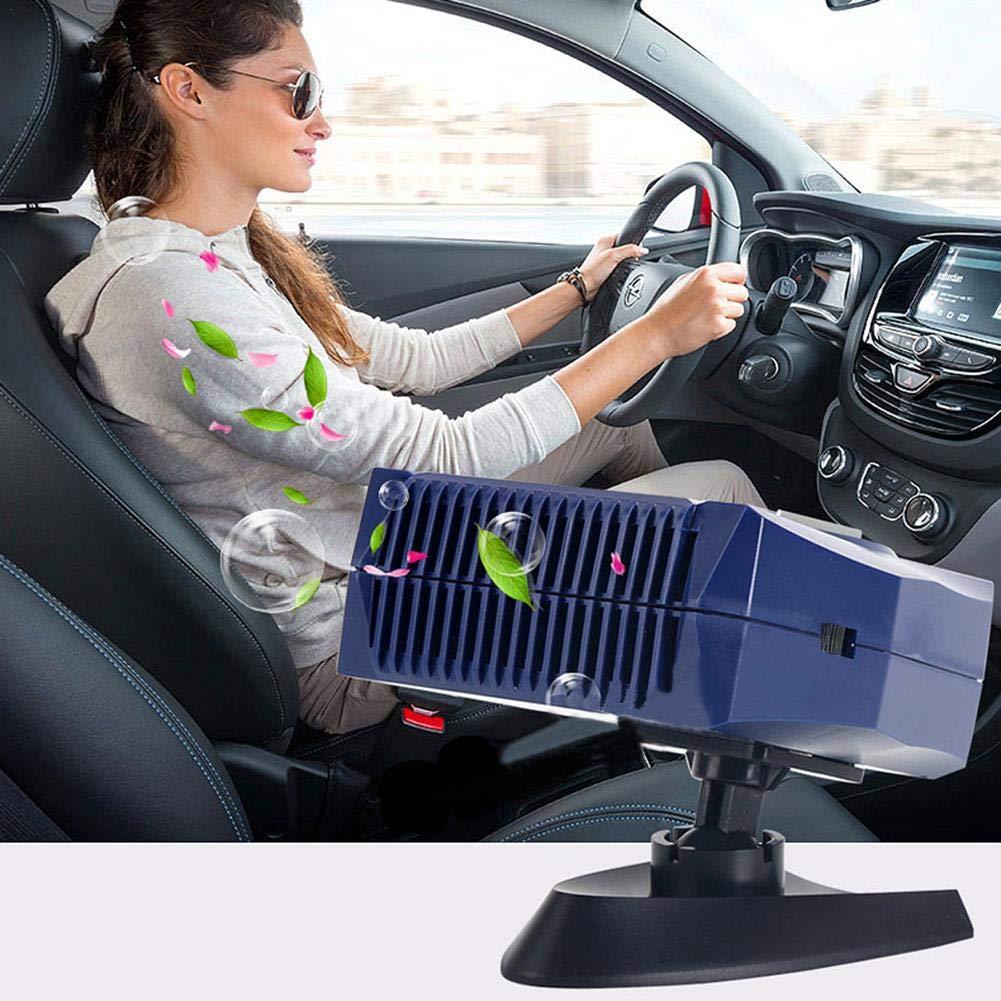 Chauffage Portable Voiture pour Refroidissement Chauffage d/égivrage et d/ésembuage lembrd Chauffage Voiture Ventilateur 12V24V Ventilateur Voiture