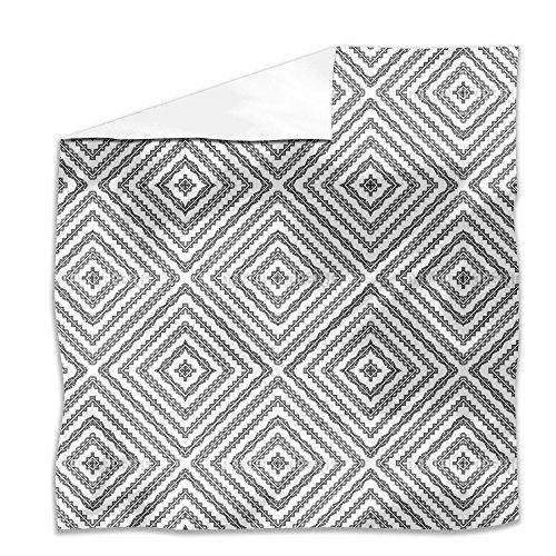Alhambra Arte Flat Sheet: King Luxury Microfiber, Soft, Breathable by uneekee