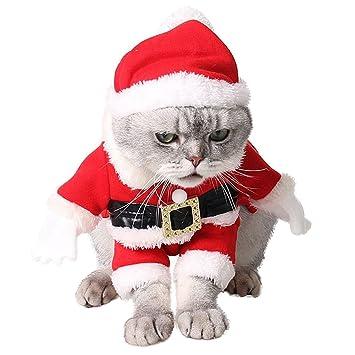 Christmas Pet Clothes, Legendog Christmas Dog Cat Suit Cute Santa Claus Pet  Costume with Santa - Christmas Pet Clothes, Legendog Christmas Dog Cat Suit Cute Santa