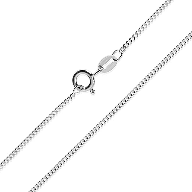 chains sterling omega solid domed chain silver necklace