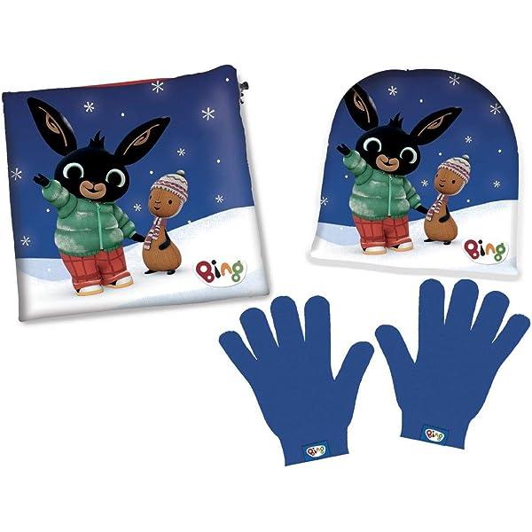 Art. 780-803 acamar Cappello Invernale Bambino Bing con Guanti Vari Modelli Set Inverno Bambino Bimbo Bing Coniglio Cappello