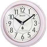 リズム時計 DAILY 掛け時計 防滴防塵 アクアパークDN