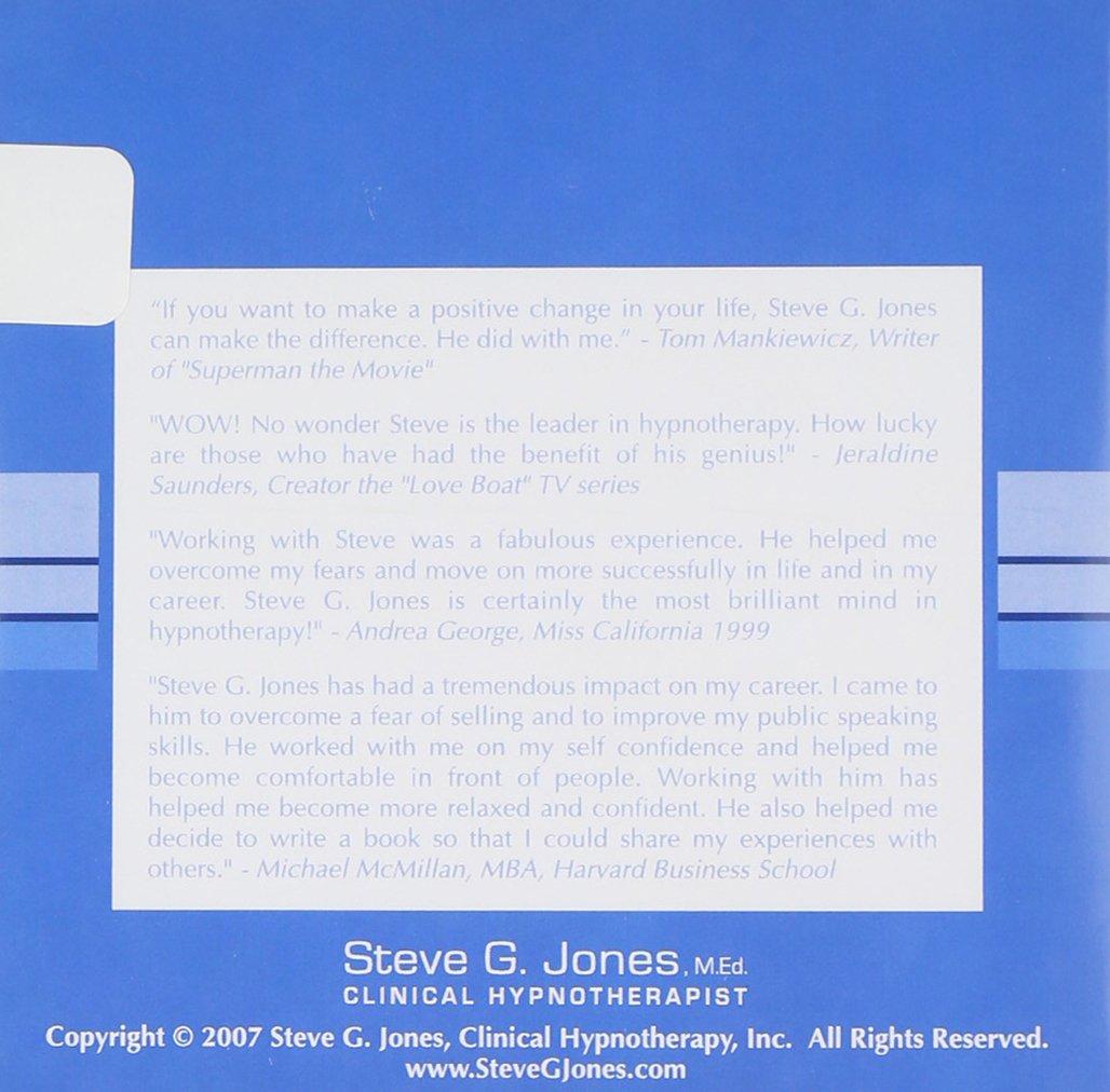 steve g jones hypnosis to change your life amazon com music