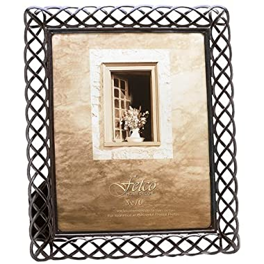 Fetco Home Décor 926480 Claremont Frame, Tuscan Bronze