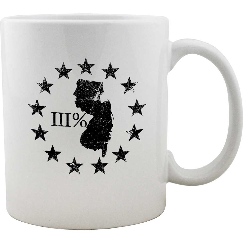 Original New Jersey State III Percenter Mug