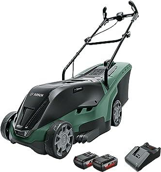 Bosch Cortacésped a batería UniversalRotak 36-560, 2 baterías, 36 V, superficies hasta 560 m², en caja: Amazon.es: Bricolaje y herramientas