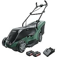 Bosch Home and Garden 06008B9505 Bosch Tondeuse à gazon universelle rotatif 36–550 (sans batterie, système 36 V, carton)